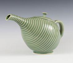 Teapot, Jeremy Smoler #ceramics #pottery #teapot
