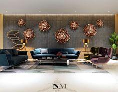 Living Room Designs, Living Room Decor, Living Spaces, Living Rooms, Interior Decorating, Interior Design, Pop Design, Drawing Room, Luxury Living