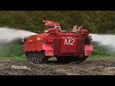 Forestfire Bushfire Wildfire Airmatic RED rescue extinguish defend Löschpanzer Marder - YouTube