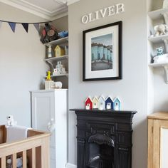 Looking for nursery decorating ideas? Take a look at our pick of the best nursery furniture, nursery wallpaper and nursery colours for inspiration Baby Nursery Furniture, Nursery Room, Boy Room, Nursery Decor, Nursery Ideas, Home Bedroom, Girls Bedroom, Childrens Bedroom, Little Boy Bedroom Ideas