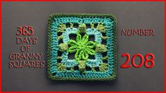 365 Days of Granny Squares Number 208