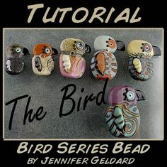 Bird Series Lampwork Bead Tutorial by glassgirl on Etsy, $17.00