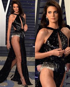 Kendall attends the 2019 Vanity Fair Oscar Party in Beverly Hills Kendall Jenner Style, Vanity Fair Oscar Party, Victoria Secret Fashion, Celebs, Celebrities, Mode Style, Sexy Legs, Sexy Dresses, Fashion Models