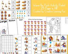 Winnie the Pooh Preschool Pack