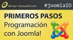 Por aquí os dejamos el vídeo a Introducción a la programación para Joomla!: primeros pasos #joomlaIO: http://youtu.be/RCk6gSUazws