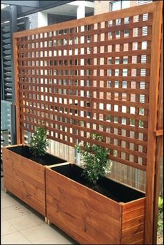 Backyard Privacy Screen, Privacy Fence Designs, Patio Fence, Privacy Landscaping, Outdoor Privacy, Backyard Pergola, Privacy Screens, Landscaping Ideas, Pergola Kits