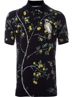 Shop Dolce & Gabbana lemon and bird print polo shirt in Coltorti Miami from the world's best independent boutiques at farfetch.com. Shop 400 boutiques at one address.