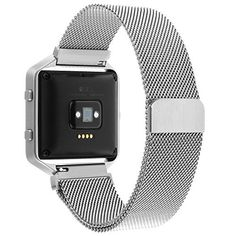 Fitbit Blaze Accessory Band Large (6.7-8.1 in),Henoda Milanese Loop Stainless Steel Bracelet Strap for Fitbit Blaze Smart Fitness Watch, Large with Unique Magnet Lock - http://www.exercisejoy.com/fitbit-blaze-accessory-band-large-6-7-8-1-inhenoda-milanese-loop-stainless-steel-bracelet-strap-for-fitbit-blaze-smart-fitness-watch-large-with-unique-magnet-lock/fitness/