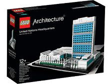 Image 1 of 4 from gallery of LEGO® Architecture Landmark Series: The United Nations Headquarters. Photograph by LEGO® Lego Building Sets, Lego Sets, Toys R Us, Manhattan, Famous Structures, United Nations Headquarters, Sports Games For Kids, New Architecture, La Rive