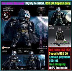MSH Pre Order Receipt Mecha Nations Batman Armored Figure Dawn of Justice Figure   eBay