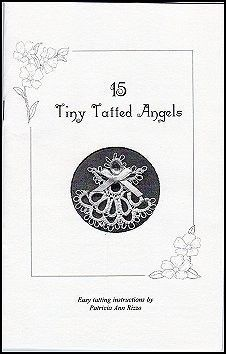 Tatting Pattern Book  15 Tiny Tatted Angels  Easy by TinyPainter, $5.00