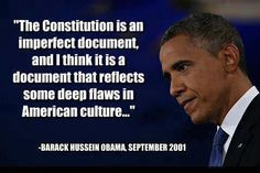 He REALLY said this! And the loud and obnoxious Liberal minority STILL worship him… WOW!!!
