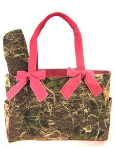 Pink Camo Camouflage Tote Purse Diaper Bag with Soft Velvety Feel,$37.99