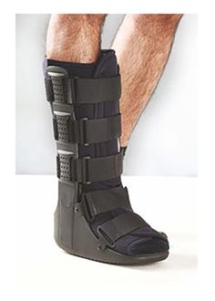 Tynor Walker Boot Tynor Walker Boot is designed for rehabilitation after injury, fracture , sprains or surgery of foot, ankle or lower leg. The boots provide support to the ankle and leg without inhibiting mobility. They can be a substitute for cast or can be used in case of early cast removal. With a wider rocker bottom, these boots promote a natural gait, reduced plantar pressure, enhanced stability and comfort to the lower leg. Light weight. Sturdy Support. Enhanced mobility.