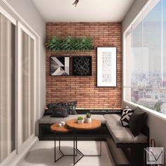 [New] The 10 Best Home Decor Ideas Today (with Pictures) - Inspiração: Varanda Gourmet Projeto: Design Loft, Patio Design, House Design, Design Design, Small Balcony Design, Small Balcony Decor, Balcony Decoration, Balcony Plants, Balcony Garden
