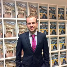 Jack, our recent recruit into the sales team #property