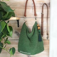 Easy Crochet Patterns, Diy Crochet, Crochet Coin Purse, Crochet For Beginners Blanket, Crochet Market Bag, Tote Bags Handmade, Art Bag, Crochet World, Crochet Handbags