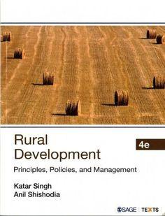 Rural Development: Principles, Policies, and Management