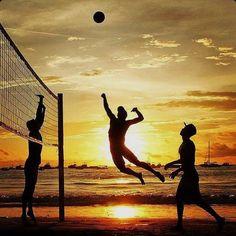 #beach #volleyball #sun #foreveryone