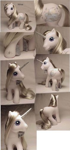 Silver custom pony by Woosie