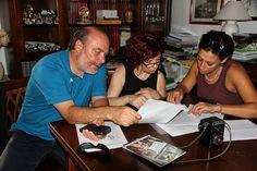 si lavora con la scrittrice Teresa Gammauto