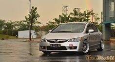 Modifikasi Honda Civic : Good Looking By Stance #info #MobilModifikasi #BosMobil