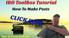 IBOToolboxTutorial - How To Post To IBO Toolbox