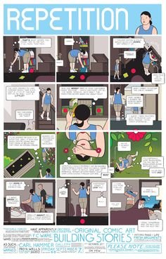Creative Review - Chris Ware's Building Stories exhibition(s)