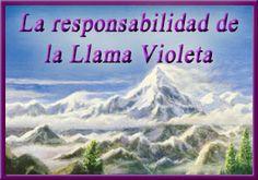 La responsabilidad de la llama violeta transmutadora