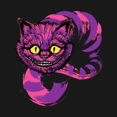 GRINNING LIKE A CHESHIRE CAT T-Shirt - Alice in Wonderland T-Shirt is $11 today at Ript!