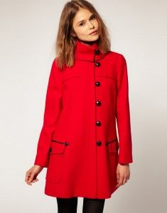 Love the red....