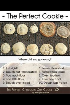 The perfect cookie guide