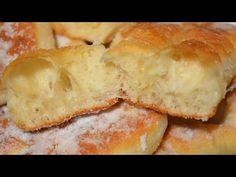 Пончики | Пышные немецкие кребли - YouTube