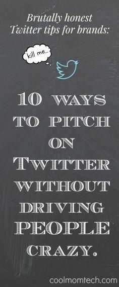 10 brutally honest tips for brands - Cool Mom Tech Twitter For Business, Business Tips, Online Business, Business Entrepreneur, Social Media Tips, Social Media Marketing, Digital Marketing, Marketing Ideas, Seo Marketing