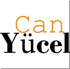 Can Yücel - Can Yücel - Kendin Tasarla - HDF Magnet 8x8cm