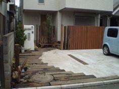 アプローチ兼駐車場をかっこ良く! 世田谷区・横浜市・座間市施工-横浜市|外構・エクステリア|ガーデンファクトリー