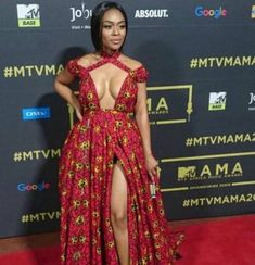 South African Actress Nomzamo Mbatha is fashion goals. African Inspired Fashion, African Fashion Dresses, African Dress, African Outfits, African Clothes, Africa Fashion, African Wear, African Style, Grad Dresses