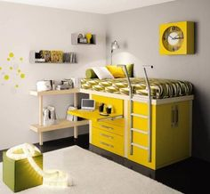Space Saving Furniture Ideas #Homedesign #furnituredesign Space saving bed offers you a comfortable bed for sleeping