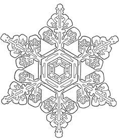 Snowflake Designs:  Dover Publications Sample