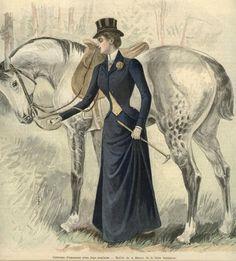 1898 riding habit