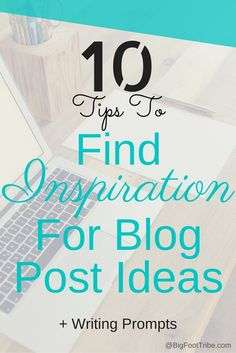 Sometimes it may be difficult to come up with the next great post. Sometimes life gets busy and blogging gets tough. So how do you come up with great blog post