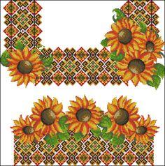 Gallery.ru / Фото #168 - схемы для вышиванок - zhivushaya