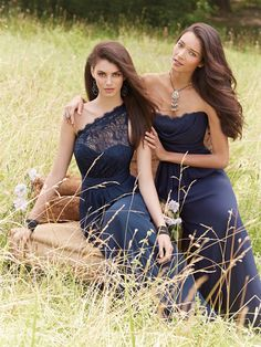 These Occasions by Jim Hjelm dresses have been beautifully designed in a indigo/purple shade of colour and are perfect if you're looking for an elegant bridesmaid dress. Product codes JH5474 and JH5453.  View more Bridesmaid dresses from our JLM Couture Occasions by Jim Hjelm collection at: http://www.baroqueboutique.co.uk/bridesmaids/  Photographs courtesy of: http://www.jlmcouture.com/Jim-Hjelm-Occasions/