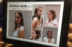 Kenna ghd London Fashion Week Beauty Blog: Backstage & Beyond