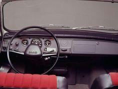 Saab 96 interior (1976)