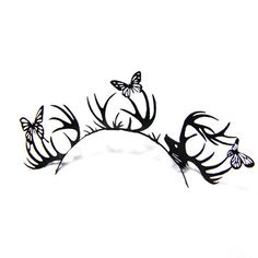 Regular Lashes Deer Butterfly, $17, now featured on Fab.