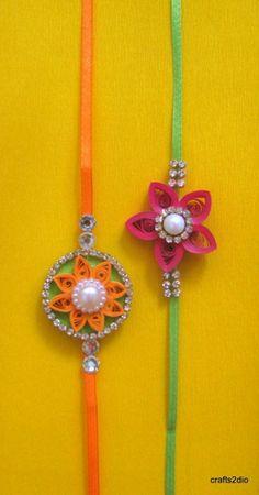 25 Trendy Ideas For Diy Art Work Homemade Money Quilling Jewelry, Paper Jewelry, Paper Quilling, Diy Wedding Garland, Diy Wedding Menu, Quilling Rakhi, Handmade Rakhi Designs, Rakhi Making, Quilled Roses