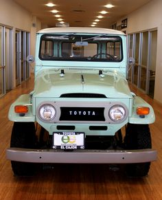 Project Car for my Dad:  1970 Land Cruiser FJ40