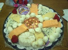 Wegmans+Catering Antipasto tray created for a catering