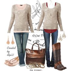 Another example of layering your outfit.  It adds demension and interest and color.
